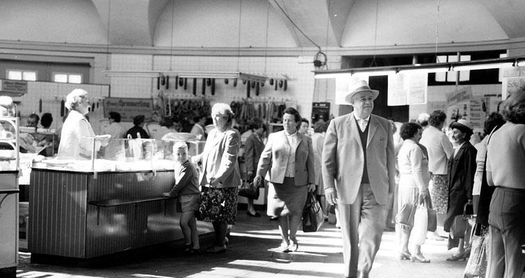 Markthalle Delmenhorst 1950